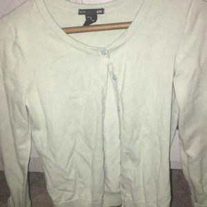 mint cardigan sweater